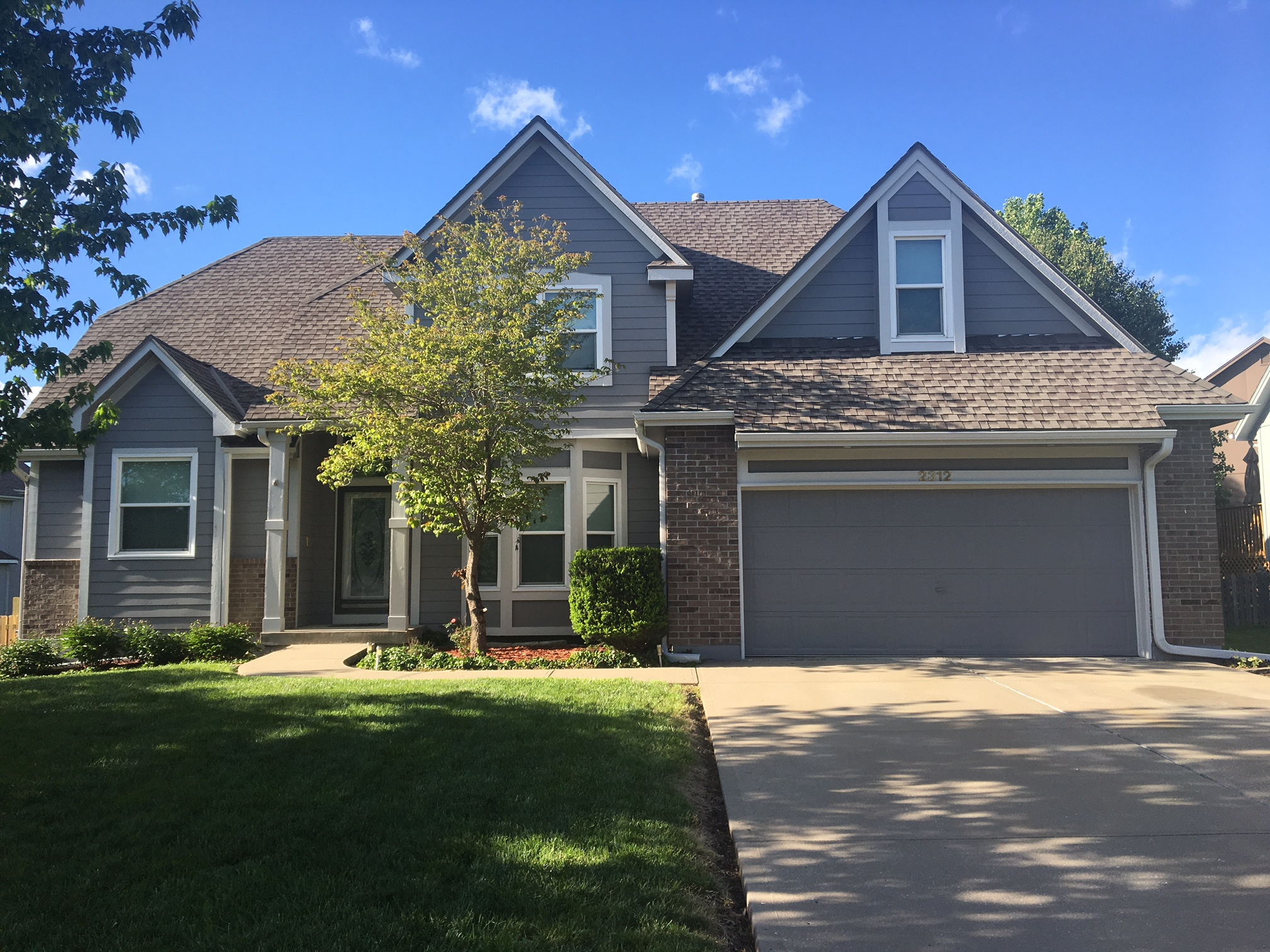 Exterior Painting   Wood Repair in Kansas City - 1st Pace Painting